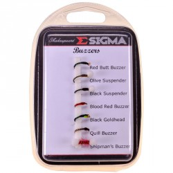 Komplet much Sigma Fly Selection 7 Buzzers