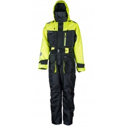 Kombinezon W3 Floation Suit Black Lemon