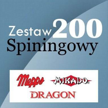 Zestaw Spiningowy 200 Wedkarski.com