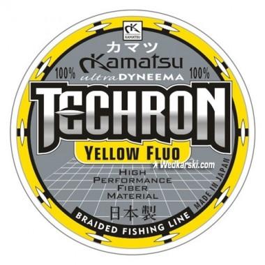 Plecionka Techron Yellow Fluo Kamatsu