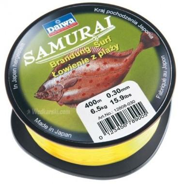 Żyłka Samurai Łowienie z plaży średnica: 0.35, długość: 300 m Daiwa