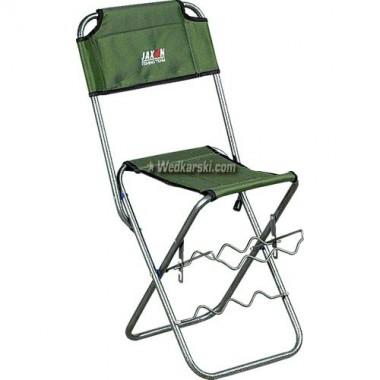 Krzesełko wędkarskie z oparciem