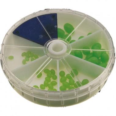 Fluo-zielone miękiie perełki