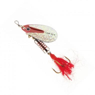 Błystka Cora-Z Toro-XL perłowy/czerwony