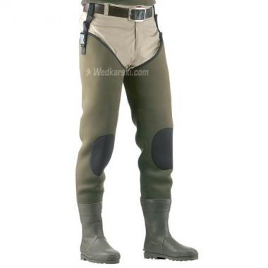 Spodniobuty Neopranowe z kauczukowymi butami rozmiar 42/43 Cormoran