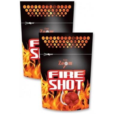 Kulki proteinowe haczykowe Fire Shot Carp Zoom