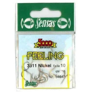 Haczyki Feeling 3311 Nickel