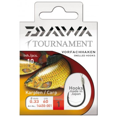 Haki karpiowe serii Tournament Daiwa