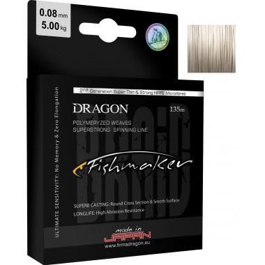 Plecionka Fishmaker Szara Dragon