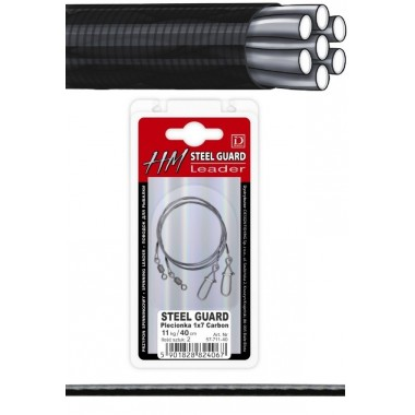 Przypon Steel Guard 1x7 Carbon Dragon