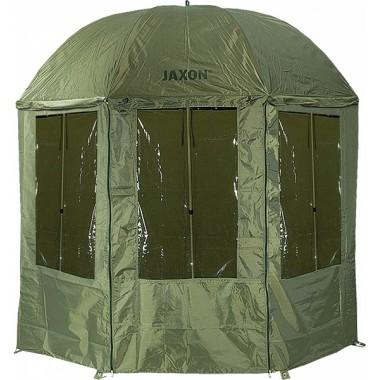 Parasol wędkarski z osłoną Jaxon