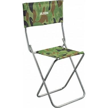 krzesełko wędkarskie z oparciem Jaxon