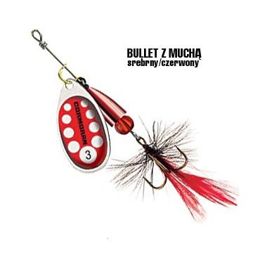 Błystka Bullet z muchą Cormoran