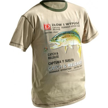 T-Shirt PSTRĄG Let's Go Fishing Dragon