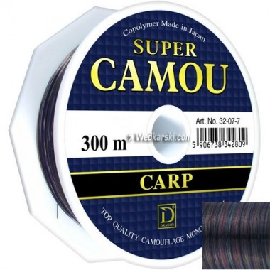 Żyłka Super Camou średnica: 0.25 mm, długość: 300 m Dragon