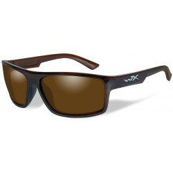 Okulary ACPEA04 – PEAK Polarized Amber, Gloss Layered Tortoise Frame