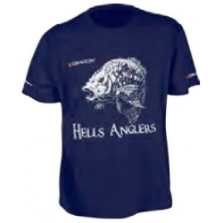 T-Shirt Navy Blue Hells Anglers