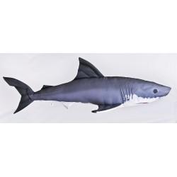 Maskotka-poduszka rekin żarłacz biały