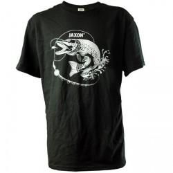 Koszulka czarna Szczupak UR-KB005