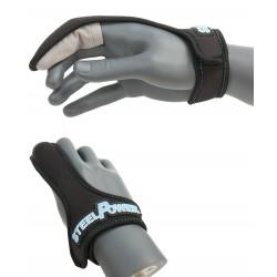 Ochrona na palec blue casting glove