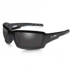 Okulary Titan Polarized Smoke Grel Gloss Black Frame