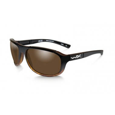 Okulary ACE Polarized Bronze Lens Gloss Tortoise Fade Frame Wiley-X