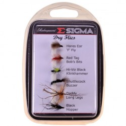 Komplet much Sigma Fly Selection 1 Stillwater