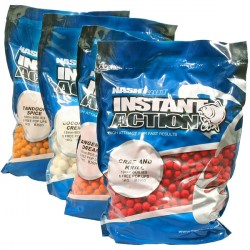 Kulki Instant Action Strawberry Crush Boilies 1kg