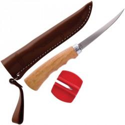 Nóż do filetowania z ostrzałką