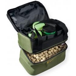 Pojemnik karpiowy z coolerem na dipy i kulki