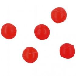 Koraliki okrągłe - Czerwone