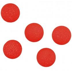 Pływające kulki czerwone