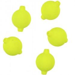 Pływające kulki fluo żółte