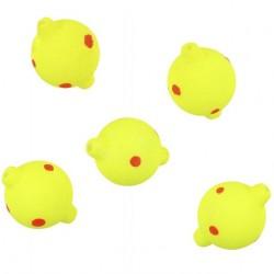 Pływające kulki żółto czerwone