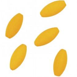 Pływające kulki elipsa pomarańczowe