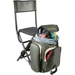 Krzesło składane z oparciem i plecakiem