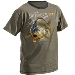 T-Shirt MegaBaits Olive Carp