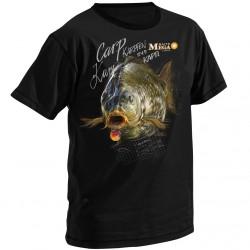 T-Shirt MegaBaits Black Carp