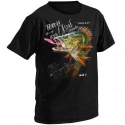 T-Shirt bawełniany okoń