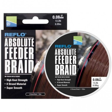 Plecionka Reflo Absolute Feeder Braid Preston