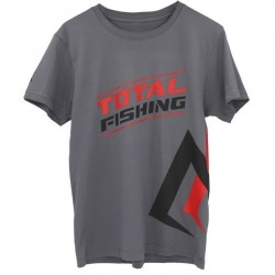 T-Shirt Total Fishing Grey