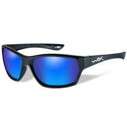 Okulary SSMOX09 - MOXY Polarized Blue Mirror, Gloss Black Frame