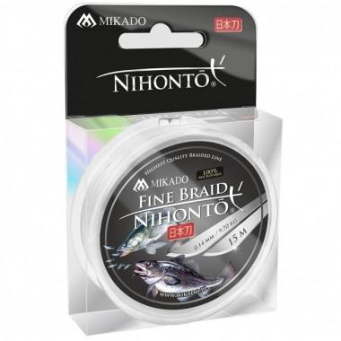 Plecionka Nihonto Fine Braid 15m Mikado