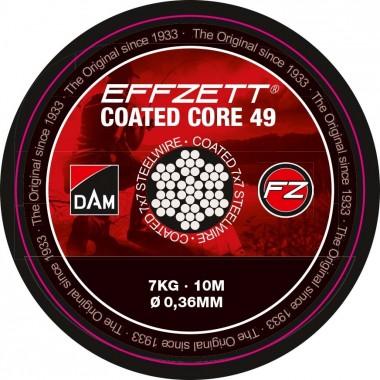 Materiał przyponowy Effzett Coated Core 49 DAM