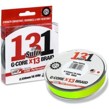 Plecionka 131 G-Core Braid Neon Chartreuse Sufix
