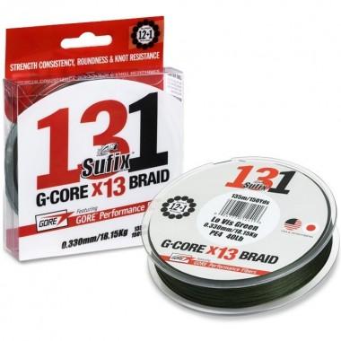 Plecionka 131 G-Core Braid Lo-Vis Green Sufix