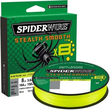 Plecionka Stealth Smooth 8 Yellow SpiderWire