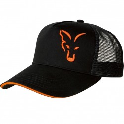 Czapka Black & Orange Trucker Cap