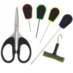 Zestaw plastikowych narzędzi karpiowych