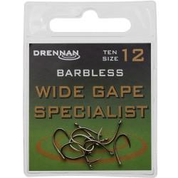 Haczyk Wide Gape Specialist Barbless